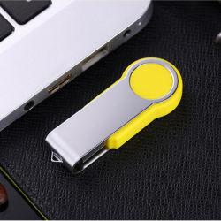 Pivot en plastique d'alimentation du lecteur Flash USB 2GB 4GO 8 GO de 16Go et 32 Go à 64 Go de mémoire de 128 Go USB2.0 Pendrive mémoire disque mémoire flash