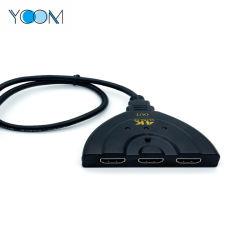 Высокое качество 3X1 1080P кабель HDMI коммутатор с 3 портами