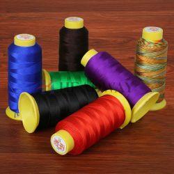 40s/2/3 100% poliéster hilado teñido de colores personalizados en el 100% poliéster Hilo de Coser con la calidad Tfo