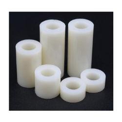 Personalizar M3 M4 M5 de plástico de nylon blanco separadores separador métrica Rround Nonthreaded ABS de China fabricante de moldes