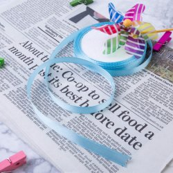 Parte de la decoración, pastel, Embalaje de regalo el poliéster cinta Lustre Plb