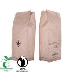 Protéines de lactosérum en poudre à l'emballage biodégradable à fond plat transparent fournisseur en Chine