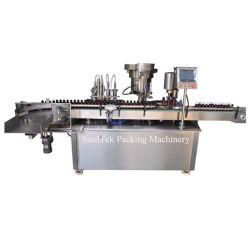 Tappo di riempimento automatico dell'olio essenziale in macchina di coperchiamento