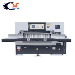 종이 또는 그림 회전 절단기 기계 또는 수동 종이 자르는 칼 또는 서류상 회전하는 트리머 (QZYK1300D-10)