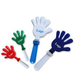 Giocattolo di plastica personalizzato di applauso della mano del creatore di disturbo di marchio pp, valvola del ventilatore