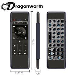 Air Mouse Microsoft Wireless teclado Mini P1 Air Mouse con aire de plástico con retroiluminación Air Mouse ratón de la máquina de aire