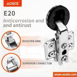 E20 26mm tasse la diapositive sur verre Meubles mini charnière Charnière de porte de matériel
