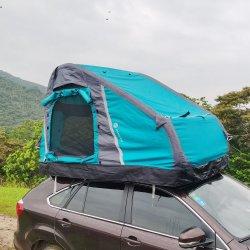제조업체들이 휴대용 DIY 차량 2인용 패밀리 차량 캠핑장을 구입합니다 SUV를 위한 팽창식 지붕 탑 텐트