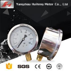 La parte superior de alta calidad barata manómetro de baja presión con caja de seguridad