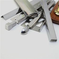 Niu Yuan Metal Garniture de tuiles en acier inoxydable, acier inoxydable en carreaux de céramique de caisse, Garniture de carreaux de chant de coin