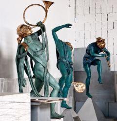Amazing Musical Life Size Art Musicians Bronze Sculptures for Sale