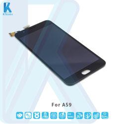 سعر رخيص 5.5 بوصة أسود الهاتف المحمول شاشات إل سي دي مع جهاز التحويل الرقمي تجميع لخيارات A59 Combo