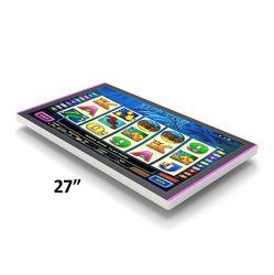27 인치 열린 구조 용량 FHD TFT IPS 전시 정면과 뒤 LED 바 호환성 귀족 나선을%s 가진 다중 10 점 접촉 스크린 필름 위원회 모니터 LCD