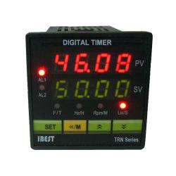 Manica elettronica conteggio alto o Down1 12V/24V/AC220V/110V (IBEST) del tester di comitato del relè del temporizzatore di preregolamento del visualizzatore digitale di Trn 4 LED/
