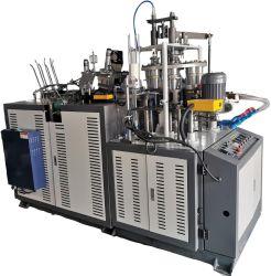 Double revêtement unique automatique coupe en papier jetables de décisions de machines de formage
