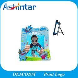 Frame dat van de Foto van pvc van het beeldverhaal het Zachte Plastic PromotieGiften adverteert