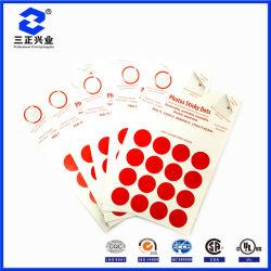 Lavable extraíble diseñada de forma personalizada puntos de la etiqueta adhesiva fotos reutilizables.