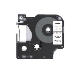 Nastro adesivo per stampa di etichette Dymo D1 da 12 mm 45013 per ufficio
