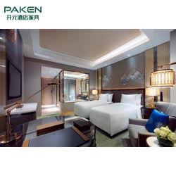Hotel de 4-5 estrellas de lujo Habitación con muebles de madera establece