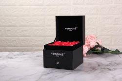 Nueva moda Gofrado Box Rose Mira Caja de regalo cosmética Embalaje