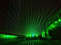 40K 4W зеленый лазер легкий проектор DJ показывает стадии лазерного оборудования