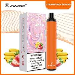 Neso Rincoe S10 Con Sabor A E-cigarrillo desechable pluma Vape Cartucho desechable E Cig