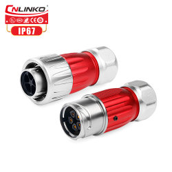 Cnlinko 5 Контакт M20 IP67 разъема удлинительного кабеля разъем шнура питания