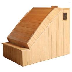 Halber Karosserien-Sauna-Raum als bewegliche weites Infrarot-Kabine gebildet vom Kanada-Schierling, das persönliche Sorgfalt-heiße Therapie-Gesundheits-Gerät