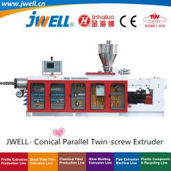 Jwell- konische parallele Doppel-Schraube, die Strangpresßling-Maschinen-Extruder Ersatzteile bildend aufbereitet