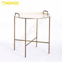 Onenoe Design semplice Moda moderna arredo in metallo maglia lato rotondo Tabella