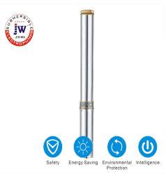 4 bildete tiefe gut erklärte Wasser-versenkbare Pumpe des Zoll-0.5HP Edelstahl
