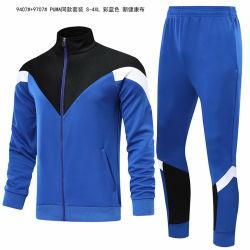 De Sporten van het Fluweel van de Vacht van Technologie van de Kleding van de voetbal kleedt de Kleding van de Bovenkledij van het Voetbal de Dames van het Kledingstuk van de Douane van het Fluweel/Vrouwen/Mens