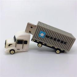 Unidade Flash USB de PVC personalizado 2 GB 4 GB de desenhos animados de Silicone Memory Stick USB Automóvel