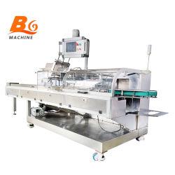 BG horizontale automatische Pillow Bag Condom Pill zakje doos Verpakking Verpakkingsmachines Cartoning machine