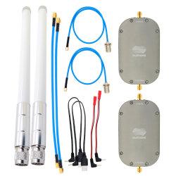 Wireless de banda dupla Mini Amplificador 2W 2,4GHZ&5.8GHz Drone Extensor Sinal WiFi com amplificador de antena 5.8GHz