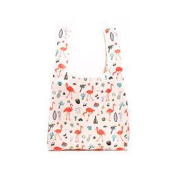 Heavy Duty sac fourre-tout de pliage extensible grande épicerie réutilisables Sac shopping pliable en polyester
