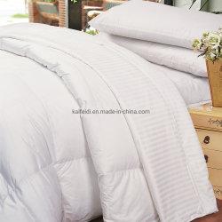 Luxury 30% Edredon de penas de ganso branco Edredon de penas