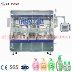 Handdesinfizierer-antibakterieller flüssige Seifen-reinigender Spülmaschine-Shampoo-Haar-Signalformerlandry-flüssige Spiritus-Gel-Füllmaschine für Flaschen-Einfüllstutzen