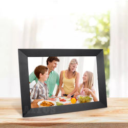 Amazon Hot Selling Smart WiFi Picture Album HD Touch 10 Zoll Cloud Digital Photo Frame mit APP