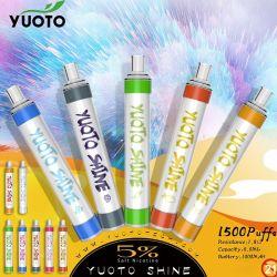 Soffi liquidi del kit 1500 di Vape della barra della penna dell'olio E Vape del fumo di prezzi di fabbrica