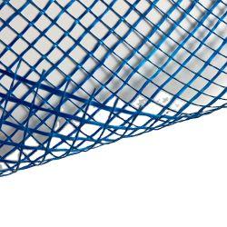Bianco Blu arancione fuoco parete intonaco maglia in fibra di vetro