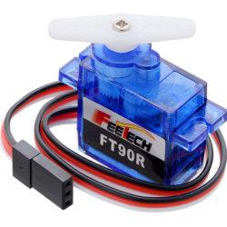 Feetech FT90r Servo Digital 360 grados de rotación continua Micro RC Servomotor rueda neumáticos para coche Smart Robot