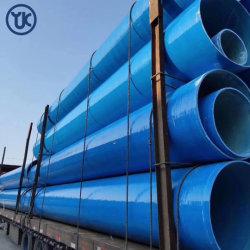 Personalización de la fábrica de vidrio reforzado FRP plástico GRP Tubo Redondo