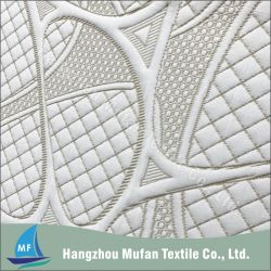 Stof van de Matras van de Jacquard van de Polyester van 100% de Breiende
