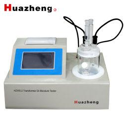 Unità di prova dell'umidità della traccia dell'olio isolante di misura del contenuto idrico dell'olio