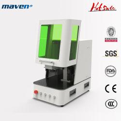 Raycus 50W 100W Desktop cor metálica CNC mini fibra portátil 3D gravura a laser de CO2 pedra cristal subsuperficiais casca de coco gravura de corte de Marcação de acrílico de madeira