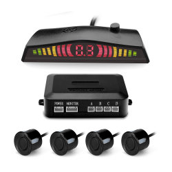 Дисплей со светодиодной подсветкой Car радиолокационный датчик контроля парковки при помощи заднего звукового сигнализатора