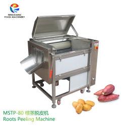 Electric Industrial un économe de Gingembre Racines de manioc de carotte Taro brosse de lavage et de la machine de peeling