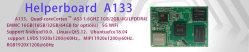 Helperboard A133 для использования вне помещений автомат OEM мини-ПК с четырехъядерными процессорами VGA развития электронной рекламы плата управления взаимосвязи печатных плат