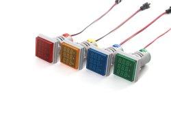 AC 0-100 UMA AC V+a+Hz Traid LED Exibir Frequencymeter 22mm Painel Leddigital voltímetro e amperímetro